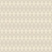 Neutral Floral Ornament. Beige Color