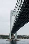 Verrazano Bridge at Angle