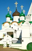 stock photo of ascension  - Pechersky Ascension Monastery Nizhny Novgorod in Russia - JPG