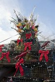 Lobster pot Christmas tree