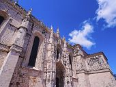 Jeronimos Monastery In Lisbon