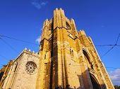 Cathedral In Lisbon