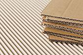 Cardboard pile