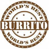 Burrito-label