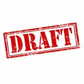 Draft-stamp