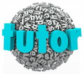 Tutor Letter Word Ball Learning Reading Writing Spelling Lesson