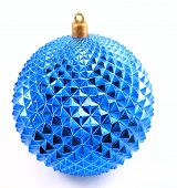 Blue Christmas Ornament_filtered