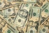 zwanzig Dollar bills uns