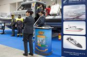 Italian Marine Financial Guard At Big Blue Expo