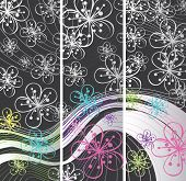Abstract Spring Banners
