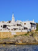 View Of Binibeca Vell On Minorca