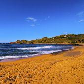 Binimella Beach On Menorca