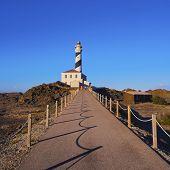 Lighthouse On Fevartix Cape On Minorca