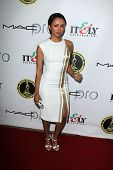 LOS ANGELES - FEB 15:  Kat Graham at the Annual Make-Up Artists And Hair Stylists Guild Awards at Pa