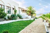 Hacienda On The Beach Facing Aegean Sea In Thassos Greece