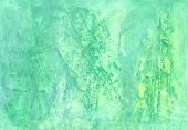 Abstract Aguarelle  Green  Background  For Scrapbooking And Other  Design
