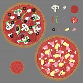 Pizza Vector Kit
