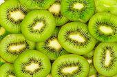 Kiwi,slices of Kiwi