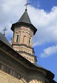 stock photo of suceava  - Image of the tower of Neamt Monastery Moldavia Romania - JPG