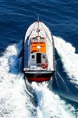 Pilot Boat In Navigation