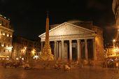 Pantheon - Rome in october night