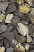Crushed Stones Background