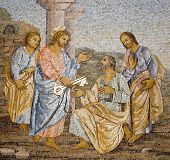 Rome - mosaic from st. Peters basilica