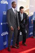 LOS ANGELES - AUG 7:  Damon Wayans Jr, Jake Johnson at the