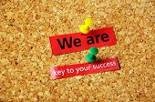 We Are Key To Your Success