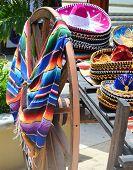 Sombrero And Poncho