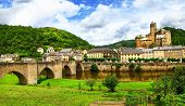 beautiful medieval Estaing -one of the most picturesque villages