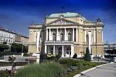 The Theatre Building In Rijeka,croatia