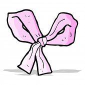 cartoon pink bow