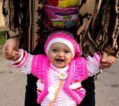 Portrait of a beautiful little girl (child)
