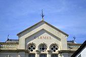 Carmel building in Conwy