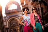 Outdoor Fashion Street Young Women
