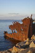Rusty Ship Wreck