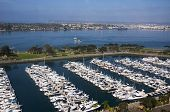 San Diego Harbor And Coronado Island