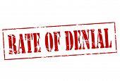 Rate Of Denial