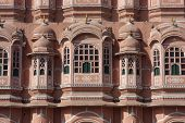 picture of brothel  - Hawa Mahal building in Jaipur - JPG