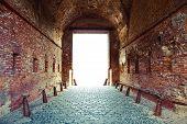 Corridor Through The Fortress