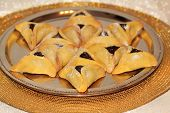 Hamantash Cookies For Jewish Festival Of Purim