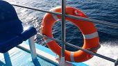 Safety baken on boat