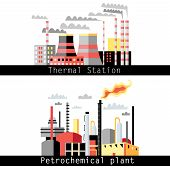 Petrochemical Plant And Thermal Power Plant