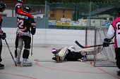Derby de hockey sobre patines en Zell am See, Austria