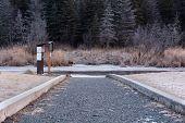Walkway To Creek