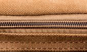 Brown texture with zipper