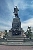 Sevastopol. Monument To The Admiral Nahimov