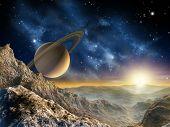 Saturn Moon