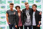 The Vamps British pop band participates at Arthur Ashe Kids Day 2014